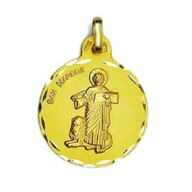 Medalla de San Marcos de oro de 18 quilates