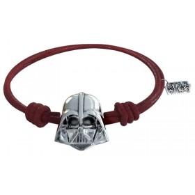 Pulsera de cuero Darth Vader