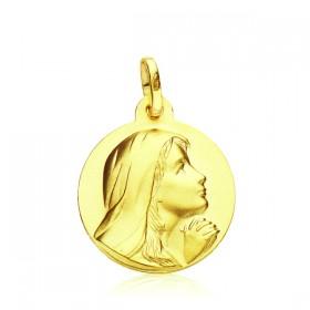 Medalla María Magdalena de oro de 18 quilates