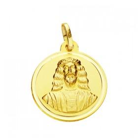 Medalla Cristo de Medinaceli de oro de 18 quilates
