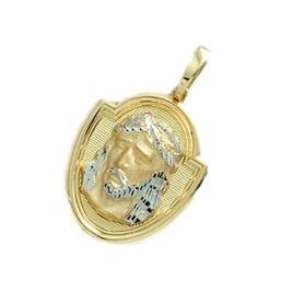 Medalla Santa Faz, Cara de Cristo, de oro de 18 quilates