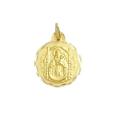 Medalla de la Virgen del Pino de oro de 18 quilates