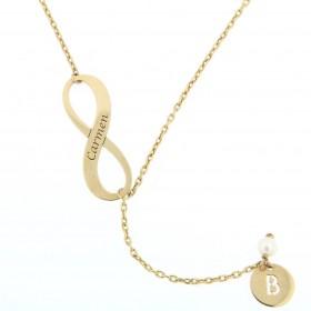 Gold Infinity pendant