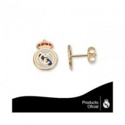 Pendientes escudo real Madrid