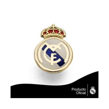 Pin escudo real Madrid 1,60 cm.