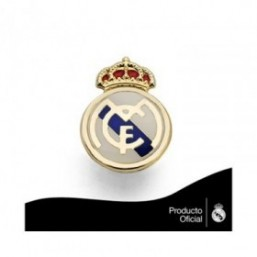 Pin escudo real Madrid 1,60 cm.