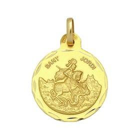 Medalla de Sant Jordi de oro de 18 quilates