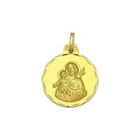 Medalla de Sant Josep de oro de 18 quilates