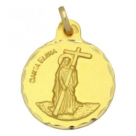 Medalla de Santa Elena de oro de 18 quilates