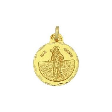 Medalla de San Isidro de oro de 18 quilates