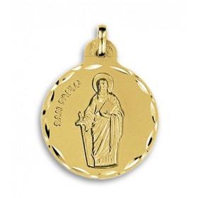 Medalla de San Pablo de oro de 18 quilates