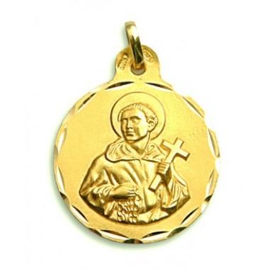 Medalla de San Álvaro de oro de 18 quilates