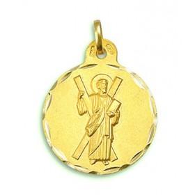 Medalla de San Andrés de oro de 18 quilates