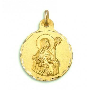 Medalla de Santa Beatriz de oro de 18 quilates