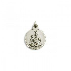 Medalla de San Cayetano de plata de ley