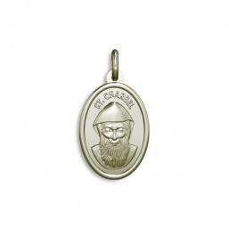 Medalla de San Chárbel de plata de ley