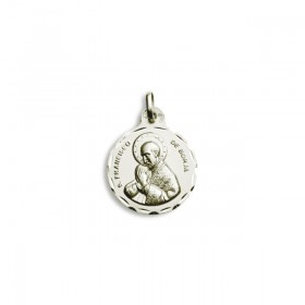 Medalla de San Francisco de Borja de plata de primera ley