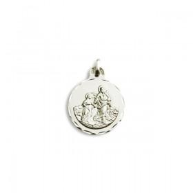 Medalla de San Joaquín de oro de plata de primera ley