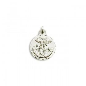 Medalla de San Juan Bautista de plata de primera ley