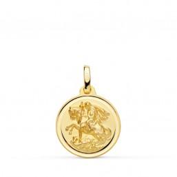 Medalla de San Jorge de oro de 18 quilates