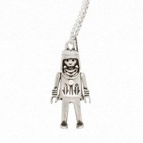 "Colgante Playmobil ""India Apache"" con cadena"