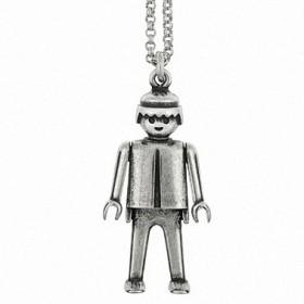 """Colgante Playmobil """"Funny Boy"""" con cadena"""