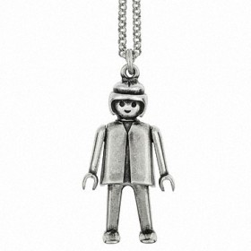 "Colgante Playmobil ""Divine Girl"" con cadena"